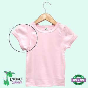 Toddler Scallop T-Shirt S/S - Pink