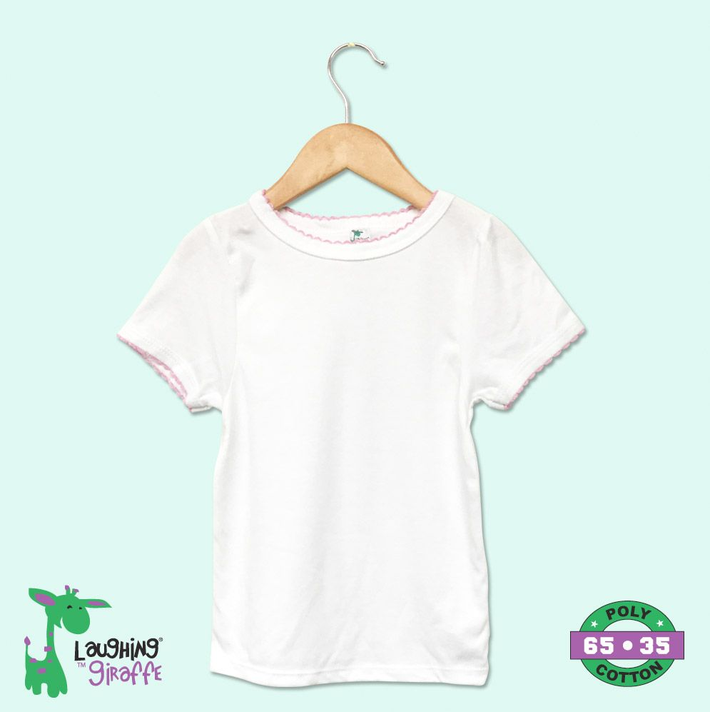 Toddler Scallop Trim S/S T-Shirt