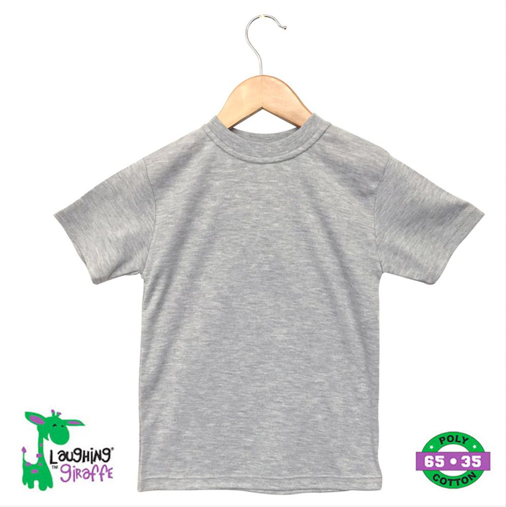 Toddler S/S T-Shirt Crew - Gray