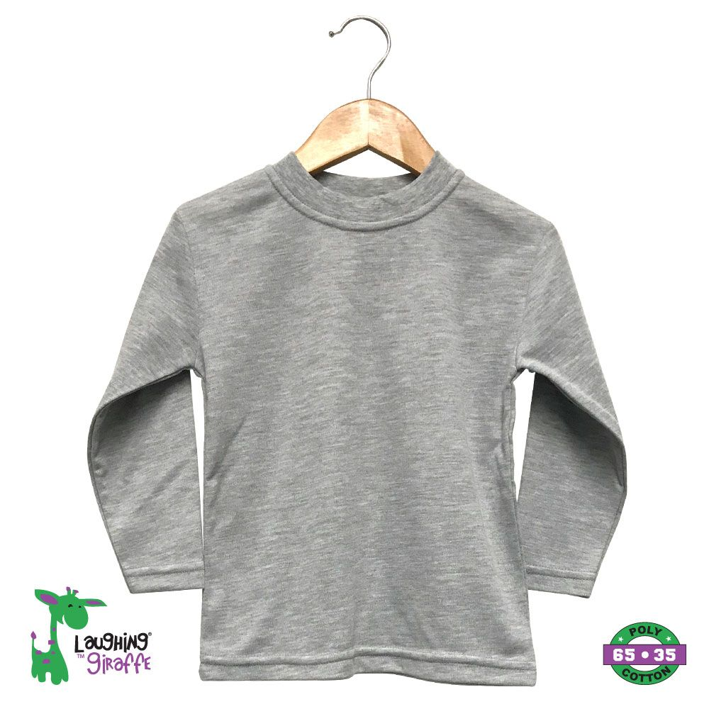 Toddler T-Shirt L/S - Heather Gray
