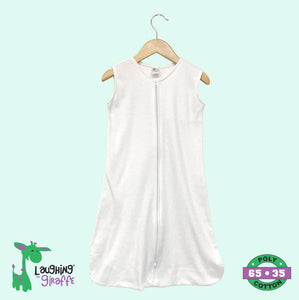 Baby Wearable Sack - White