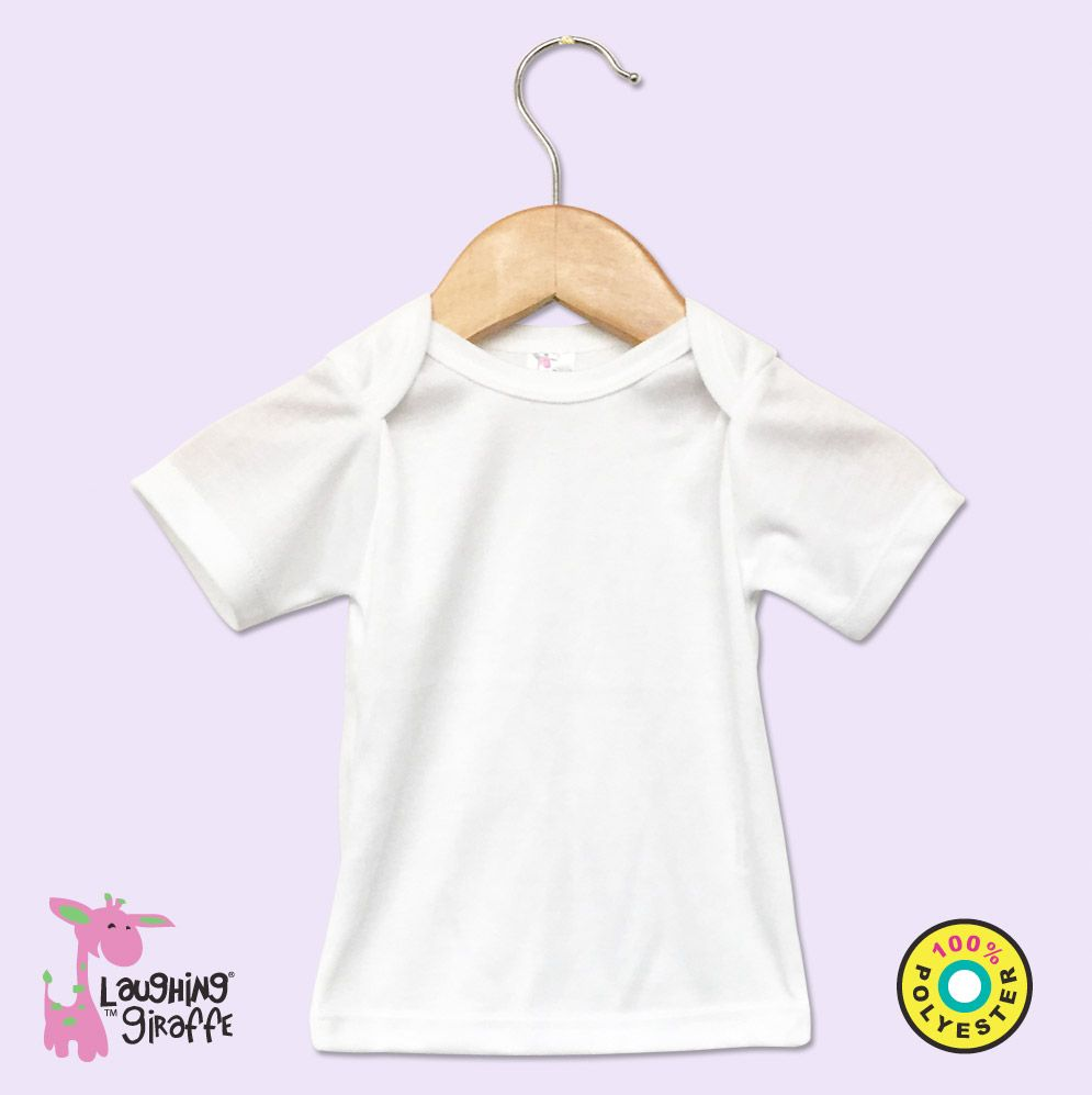Baby White Lap Tee S Sleeves
