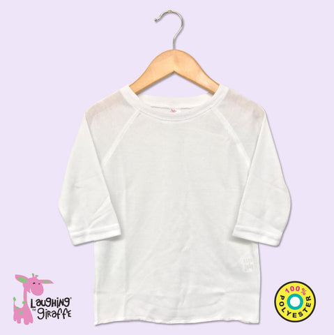 Toddler Raglan T-Shirt- White