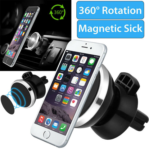 Universal Magnetic Air Vent Car Mount Phone Holder