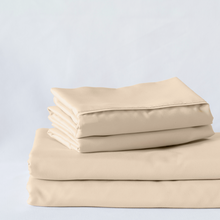 Load image into Gallery viewer, Almond (Ivory) Split King Sheet Set