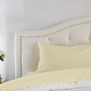Butter Cream Pillowcase Set