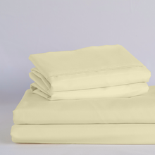 Load image into Gallery viewer, Butter Cream Split King Sheet Set