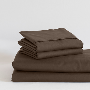 Chocolate Split King Sheet Set