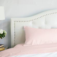 Load image into Gallery viewer, Cotton Candy Pink Pillowcase Set