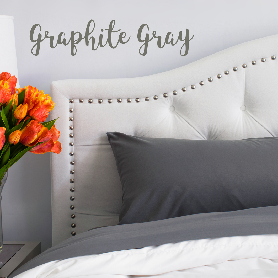 Graphite Gray Sheet Set