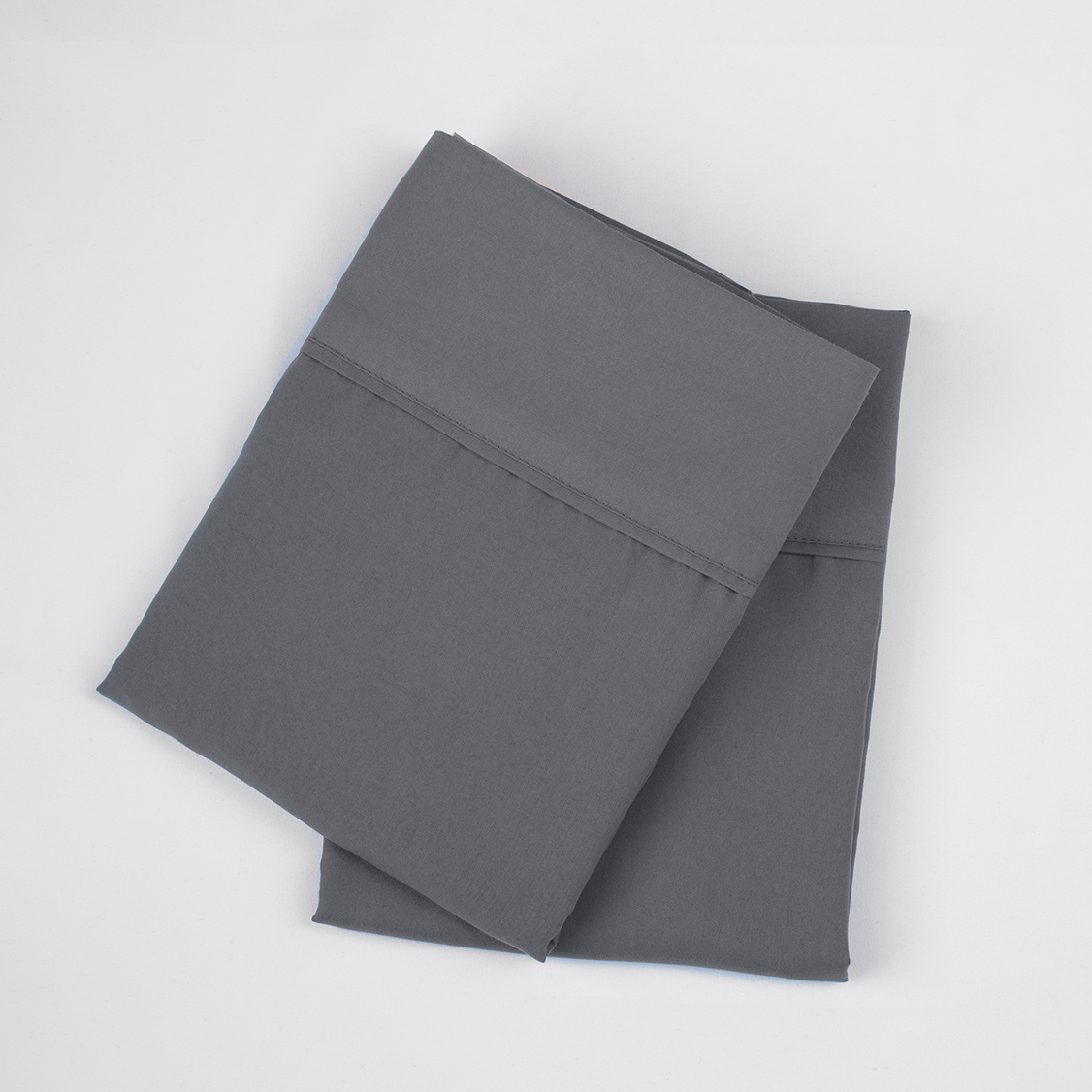 Graphite Gray Pillowcase Set