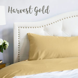 Harvest Gold Split King Sheet Set