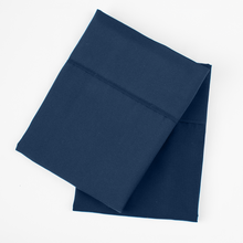 Load image into Gallery viewer, Mariner Blue (Navy) Pillowcase Set