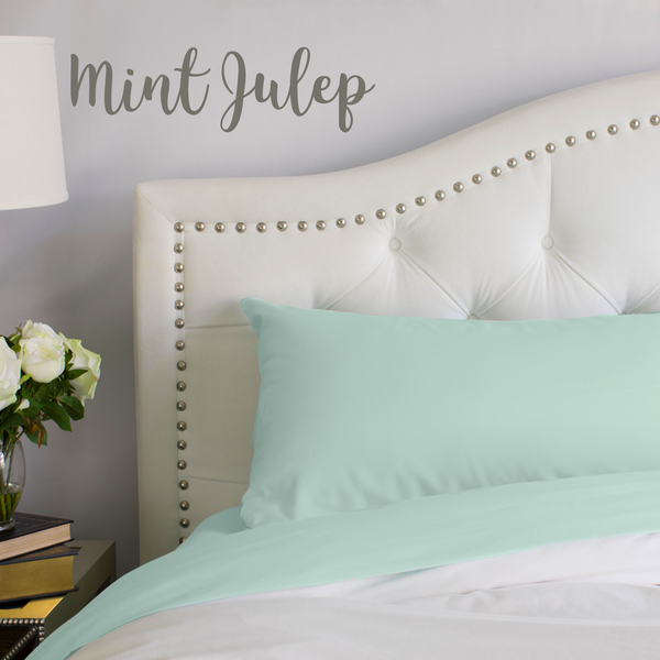Load image into Gallery viewer, Mint Julep Split King Sheet Set