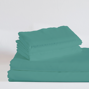 The Real Teal Split King Sheet Set