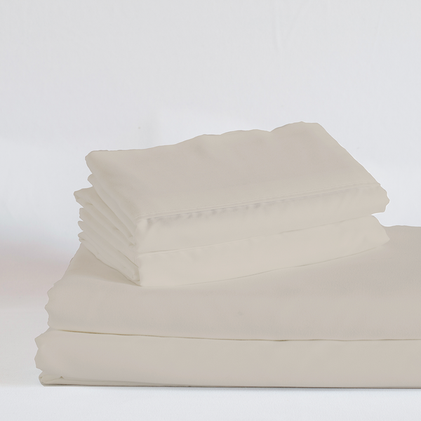 Load image into Gallery viewer, Toasted Marshmallow (Greige) Split King Sheet Set - Preorder and Ships End of April