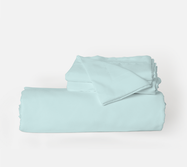 Load image into Gallery viewer, Beach Blue (Aqua) Duvet Cover Set