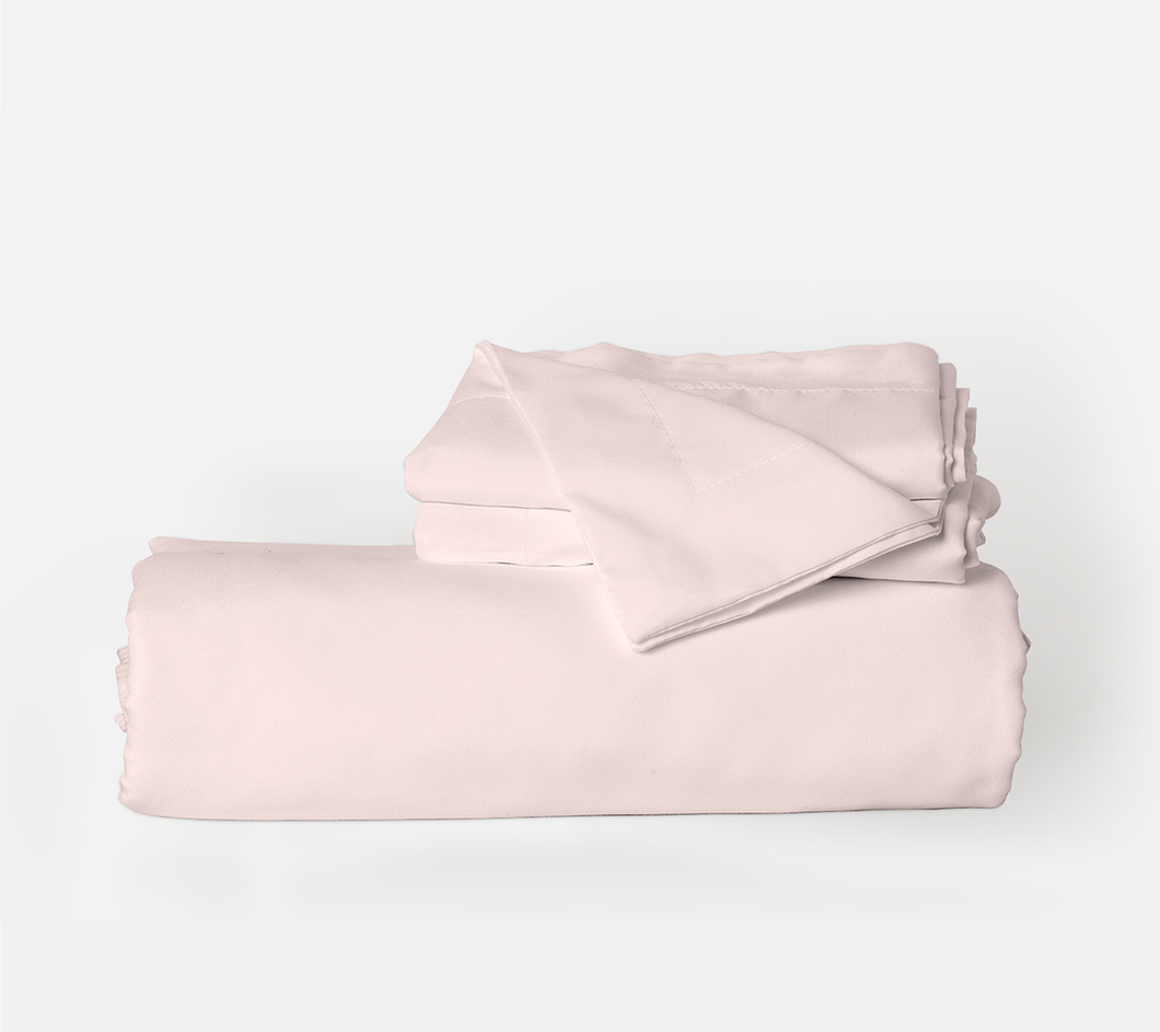 Cotton Candy Pink Duvet Cover Set