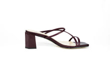 Load image into Gallery viewer, Vicki Strappy Sandal Heel