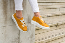 Load image into Gallery viewer, Paris Sneaker Mustard