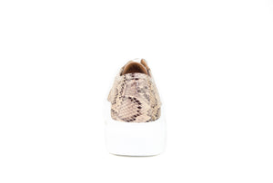 Paris Sneaker Brown Snake