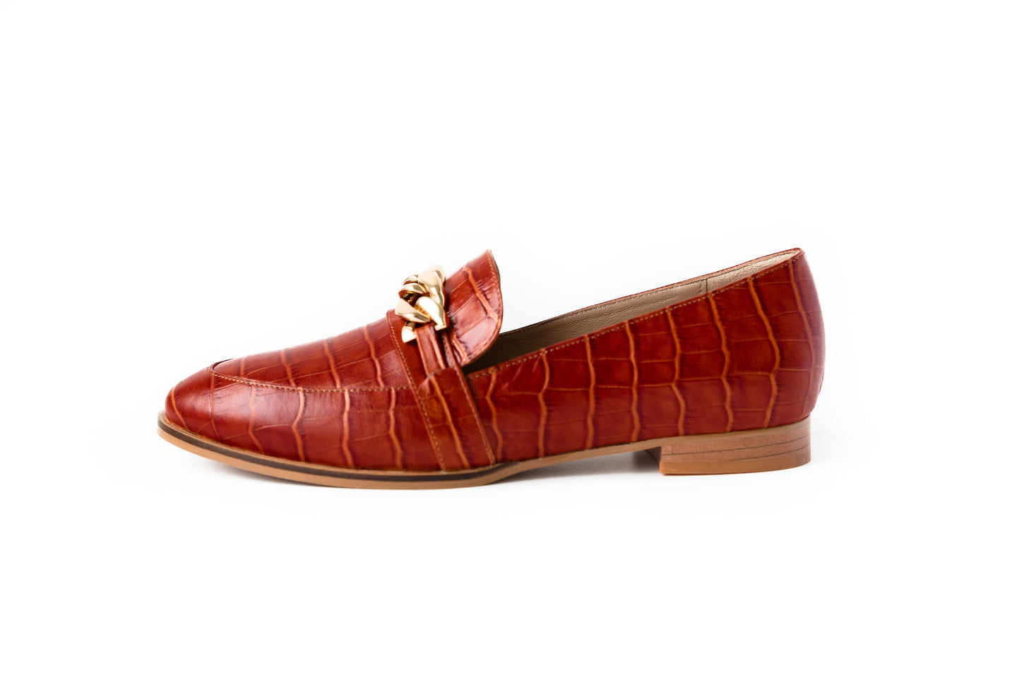 Lux Loafer Terracotta
