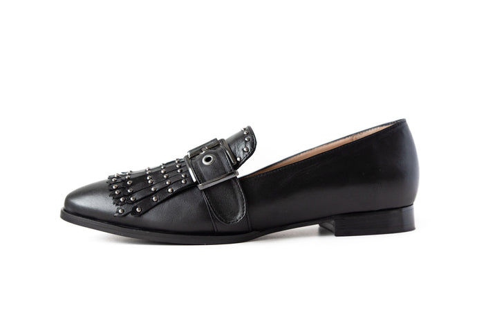 Stud Loafer Black
