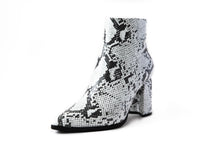Load image into Gallery viewer, Viper White Ankle Boot