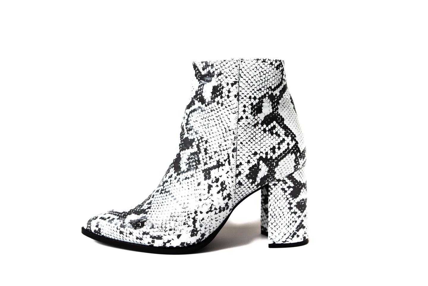 Viper White Ankle Boot
