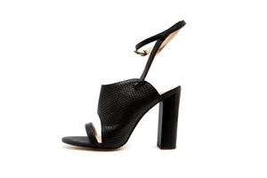 Julie Open Toe Block Heels