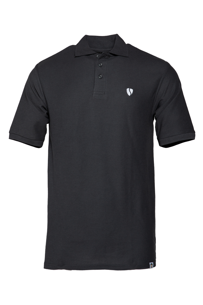 _SVIPE Polo - Grey/White