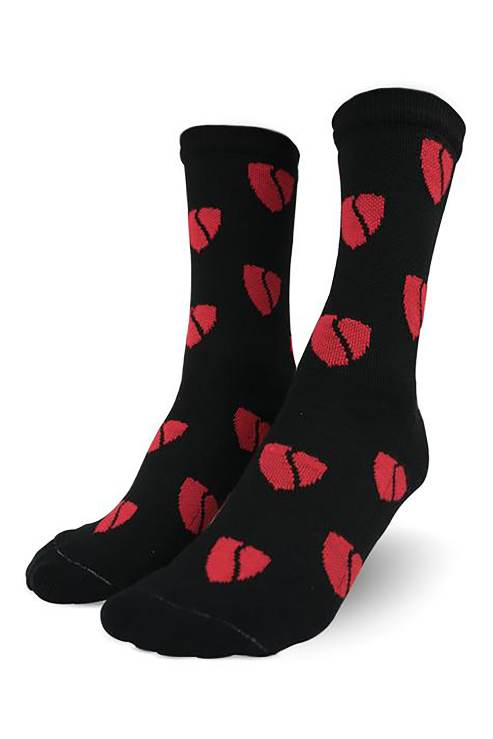 _SVIPE Socks - Black / Red