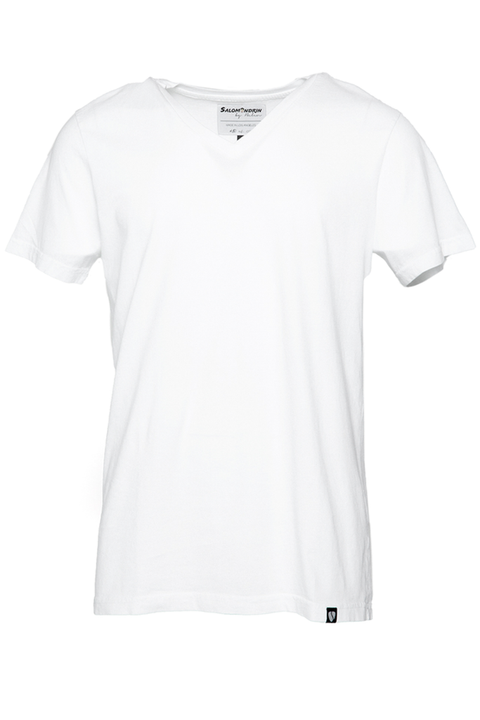 Stirling V-Neck - White