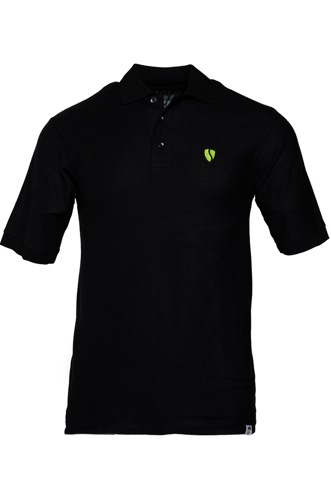 _SVIPE Polo - Black/Neon
