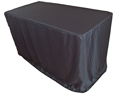 Goldstream Point 24 x 48 x 30 Inch Fitted Polyester Tablecloth 4 x 2 Feet