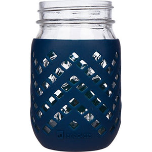 JarJackets Silicone Mason Jar Sleeve - Fits 16oz (1 pint) REGULAR-Mouth