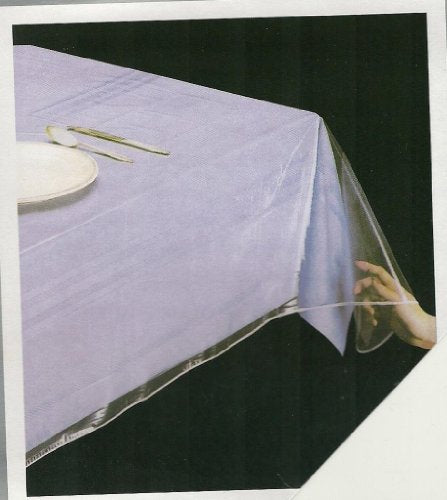 Superior Collection Clear Heavy Duty Tablecloth
