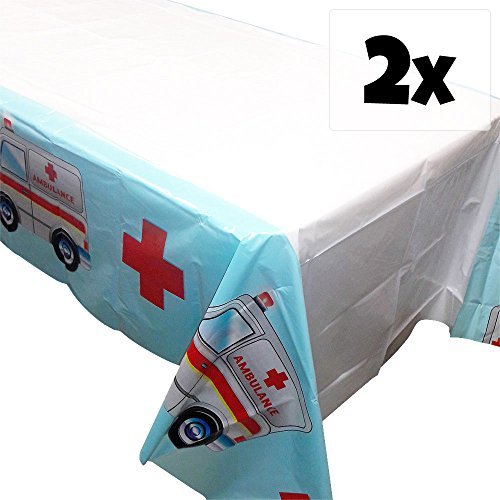 Doctor Party Tablecovers - 54in x