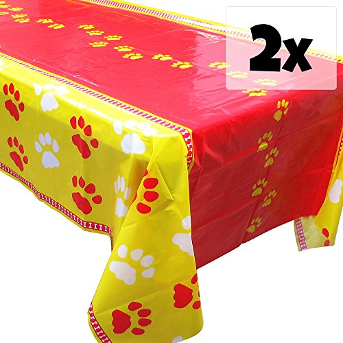 Puppy Party Tablecovers - 54in x
