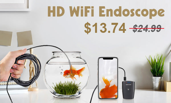 Product Review - DBPOWER HD WiFi Endoscope
