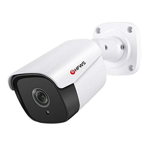 Security Camera 5 Megapixel  IP67 Weatherproof IR Night Vision Motion Detection