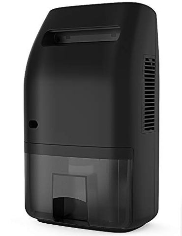 Polarpra Dehumidifier for Home 2000ML(68 oz) Water Tank, Portable Quiet Dehumidifier 2200 Cubic Feet(269 sq.ft) Home Electric Dehumidifiers for Bathroom Space Bedroom Kitchen Caravan Office (Dark)