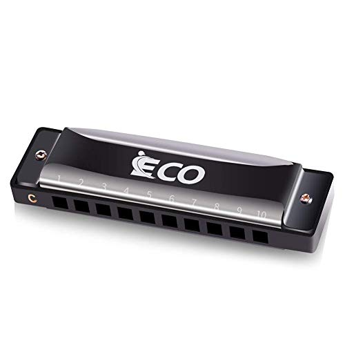 Diatonic Harmonica – 10 Hole Blues Harp with Case
