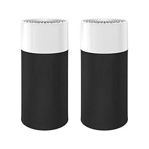 Polarpra Blue Pure 411 Air Purifier (2 pack) 3 Stage with Two Washable Pre-Filters, Particle, Carbon Filter, Captures Allergens, Viruses, Odors, Smoke, Mold, Dust, Germs, Pets, Smokers, Small Room