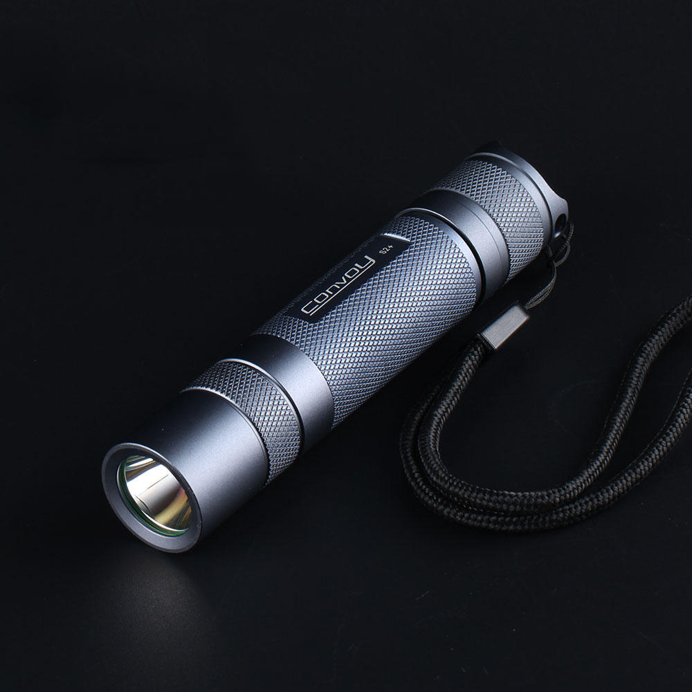 Gray Convoy S2+ SST20 7135*8 7135*6 18650 LED Flashlight - 7135*6