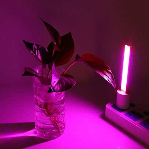 LOVESUN Led Grow Light,5V 27LED/14LED 4.5W/2.5W USB Grow Light Indoor Flowering Vegs Potted Plants Growth Lamp(21cm)
