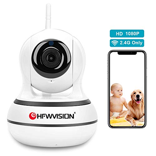 Wireless Pan/Tilt 2.4Ghz 1080P Security Surveillance Indoor Camera