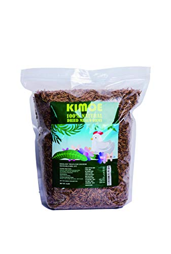 5lbs Dried mealworms for Wild Bird Chicken Fish