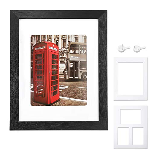 Minimalist Black Picture Frame With White Mat 11