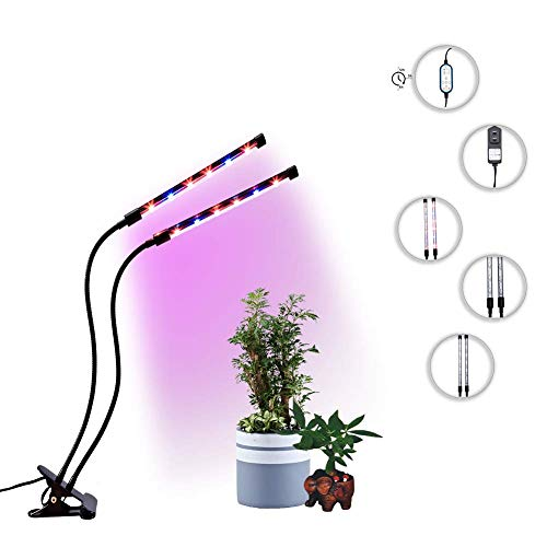 Grow Light for Indoor Plants 24W Timing with Auto Turn on/Off Function
